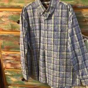 Men's George Strait by Wrangler long sleeve shirt